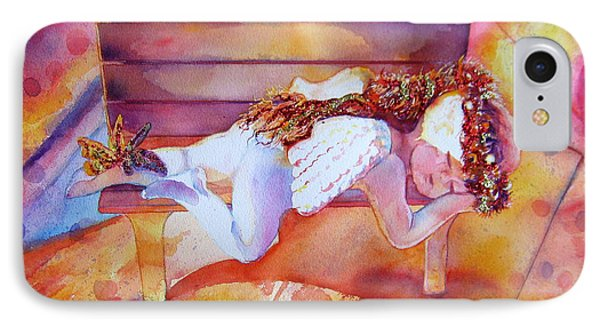 The Angel's Nap Phone Case by Estela Robles