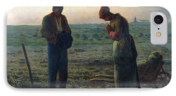 The Angelus IPhone Case by Jean-Francois Millet