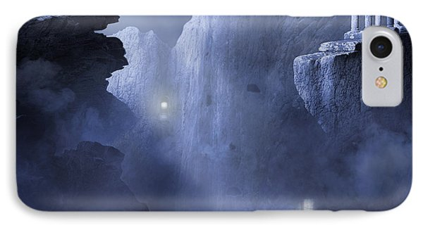 The Anguish Of The Piligrim IPhone Case by Svetlana Sewell