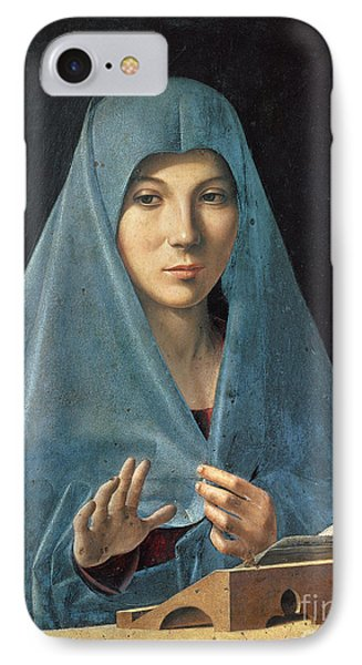 The Annunciation IPhone Case by Antonello da Messina