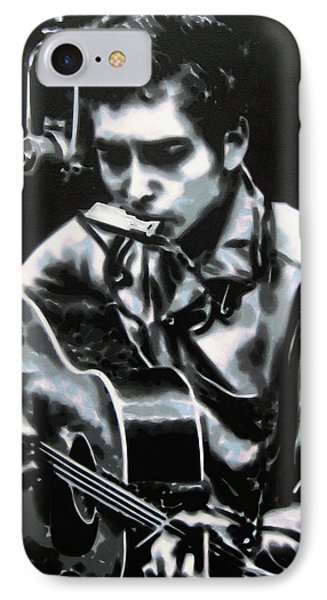 The Answer My Friend Is Blowin In The Wind IPhone 7 Case by Luis Ludzska