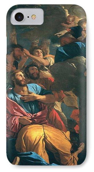 The Apparition Of The Virgin The St James The Great Phone Case by Nicolas Poussin