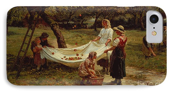 The Apple Gatherers IPhone Case by Frederick Morgan
