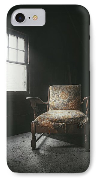The Armchair In The Attic IPhone Case by Scott Norris