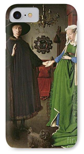 The Arnolfini Marriage IPhone Case by Jan van Eyck