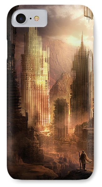 The Arrival IPhone Case by Philip Straub