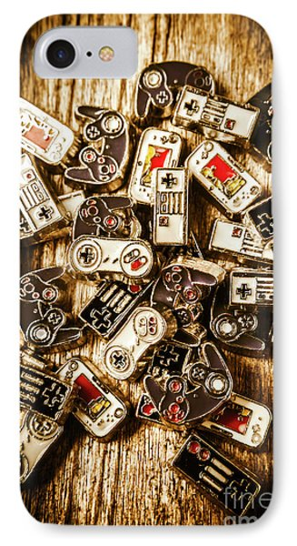 The Art Of Antique Games IPhone Case by Jorgo Photography - Wall Art Gallery