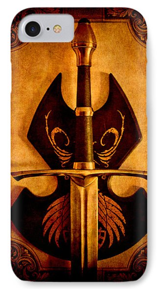 The Art Of War - Eternal Portrait Of A Warrior IPhone Case by Loriental Photography