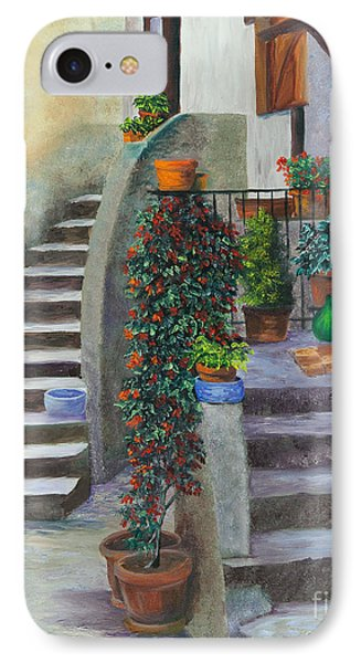 The Back Stairs Phone Case by Charlotte Blanchard