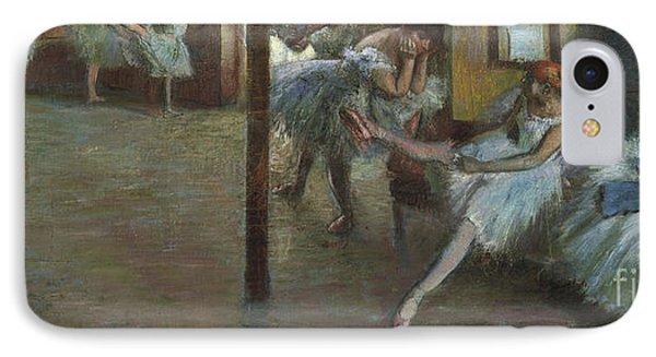 The Ballet Rehearsal, 1891 IPhone Case by Edgar Degas
