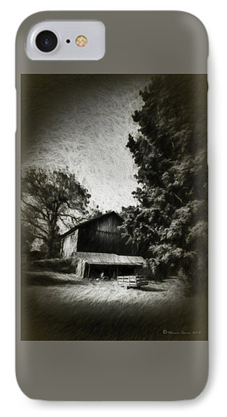 The Barn Yard Wagon IPhone Case by Marvin Spates