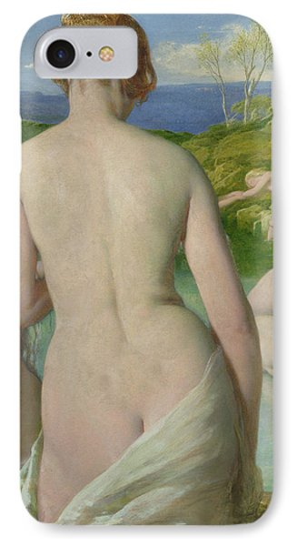 The Bathers Phone Case by William Mulready