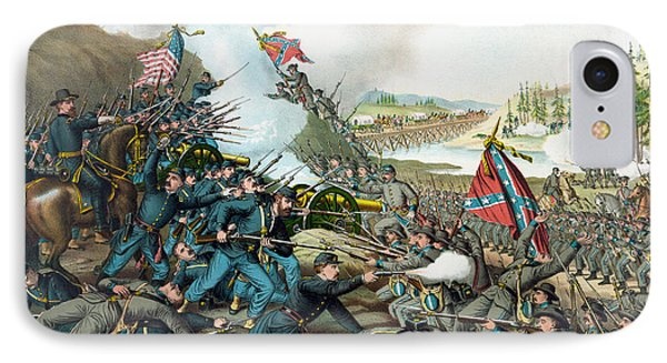 The Battle Of Franklin - Civil War IPhone Case by War Is Hell Store