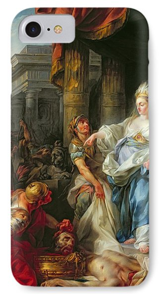 The Beheading Of Cyrus IIi IPhone Case by Jean Simon Berthelemy
