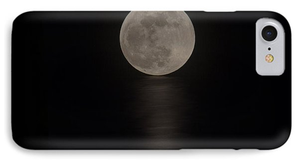 The Blood Moon Rising IPhone Case by Bob Hislop