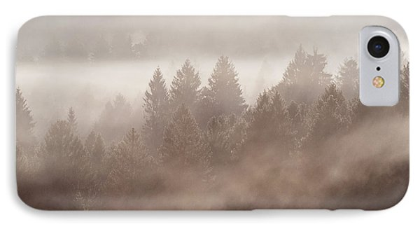 The Blow Of The Forest IPhone Case by Yuri Santin
