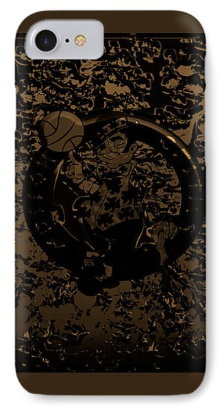 The Boston Celtics 1f IPhone Case by Brian Reaves