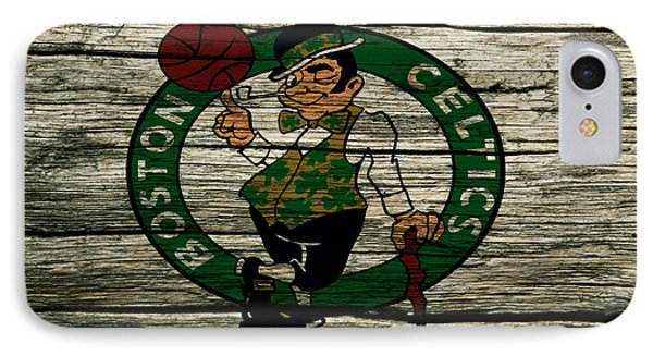 The Boston Celtics 2w IPhone 7 Case by Brian Reaves