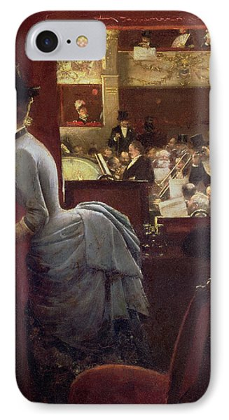 The Box By The Stalls Phone Case by Jean Beraud