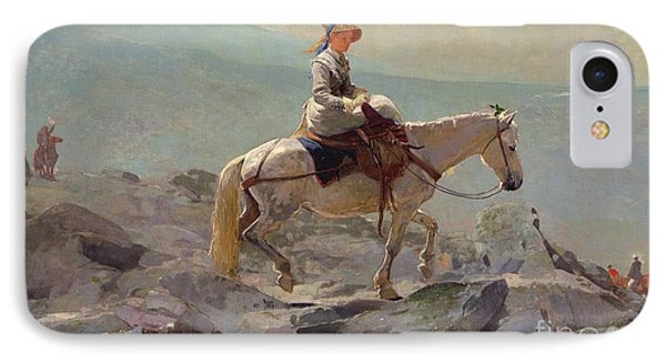 The Bridal Path IPhone Case by Winslow Homer