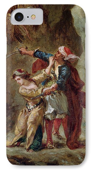 The Bride Of Abydos Phone Case by Ferdinand Victor Eugene Delacroix