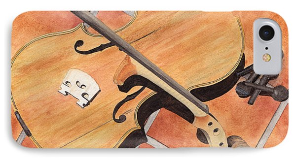 The Broken Violin IPhone Case by Ken Powers