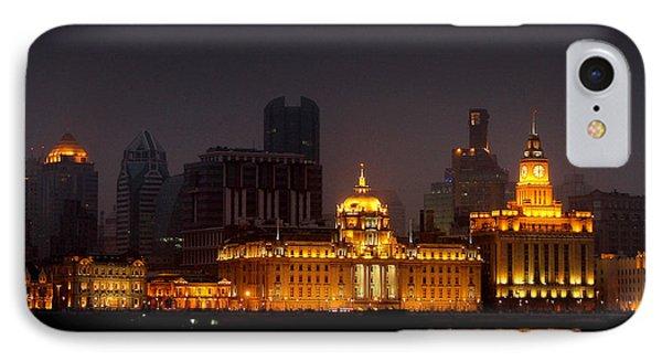 The Bund - More Than Shanghai's Most Beautiful Landmark Phone Case by Christine Till