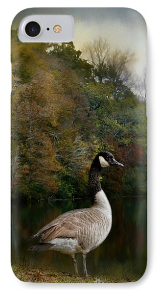 The Canadian Goose IPhone Case by Jai Johnson