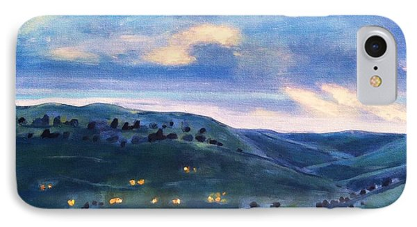 The Canyon Leading To Horsetooth IPhone Case by Maureen Carrigan