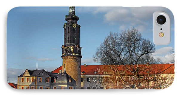 The Castle - Weimar - Thuringia - Germany Phone Case by Christine Till