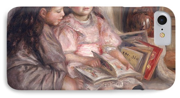 The Children Of Martial Caillebotte Phone Case by Pierre Auguste Renoir