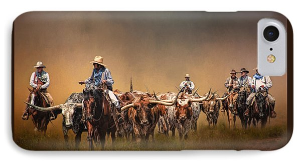 The Chisolm Trail IPhone Case by David and Carol Kelly