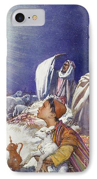 The Christmas Story The Shepherds' Tale IPhone Case by John Millar Watt