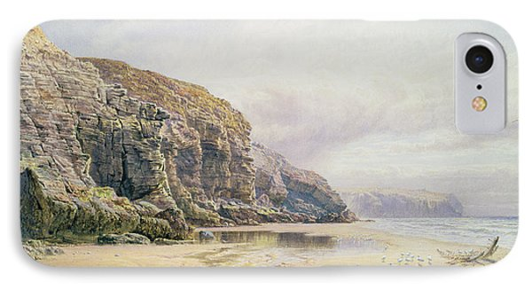 The Coast Of Cornwall  Phone Case by John Mogford