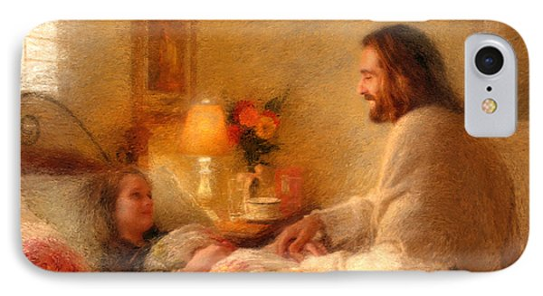 The Comforter IPhone Case by Greg Olsen
