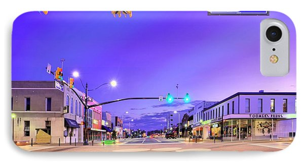 The Corner Of College And Magnolia IPhone Case by JC Findley