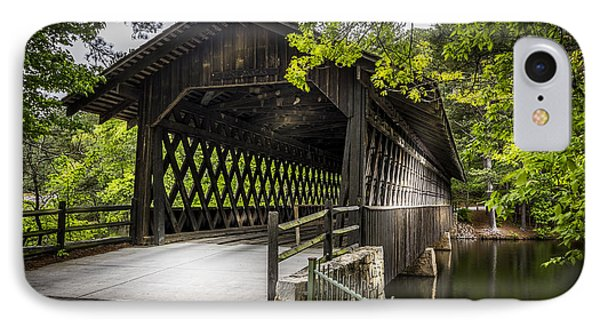The Coverd Bridge IPhone Case by Marvin Spates