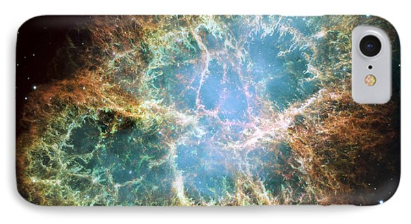 The Crab Nebula IPhone Case by Stocktrek Images