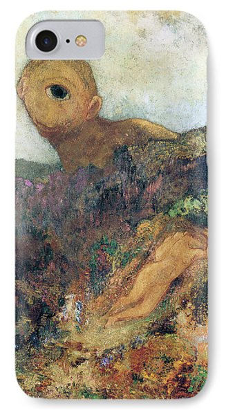 The Cyclops IPhone Case by Odilon Redon