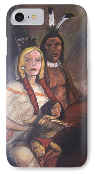 The Cynthia Ann Parker Family Phone Case by Laurie Kidd