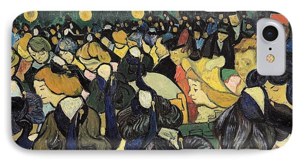 The Dance Hall At Arles Phone Case by Vincent Van Gogh