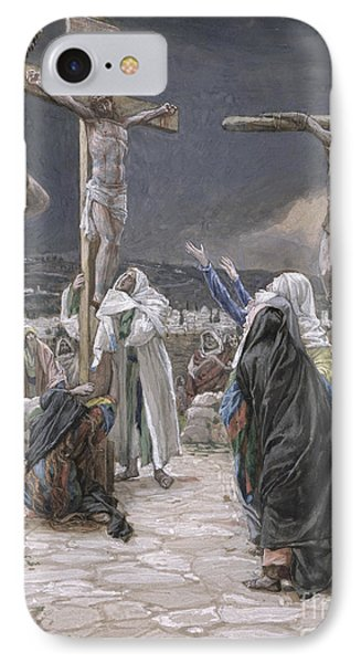 The Death Of Jesus IPhone Case by Tissot