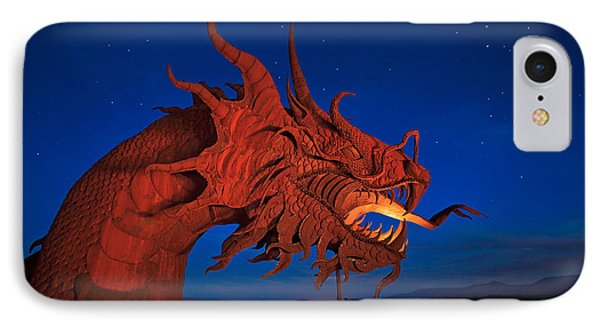 The Desert Serpent Under A Starry Night IPhone Case by Sam Antonio Photography