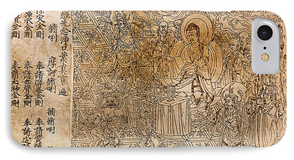 The Diamond Sutra, 868 A.d IPhone Case by Granger