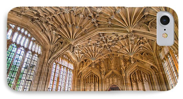 The Divinity School At The Bodleian Library IPhone Case by Tim Stanley