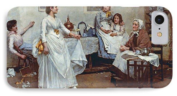 The Dress Rehearsal IPhone Case by Albert Chevallier Tayler