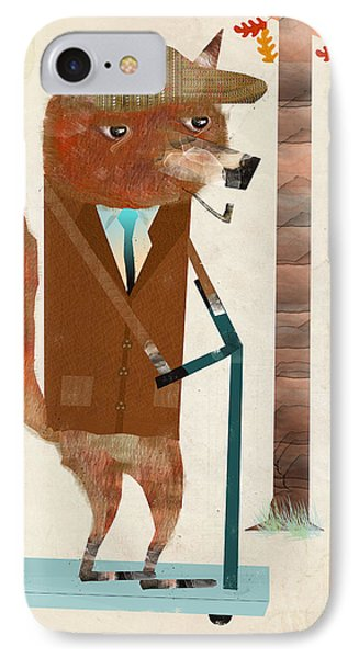 The Eccentric Mr Fox IPhone Case by Bri B