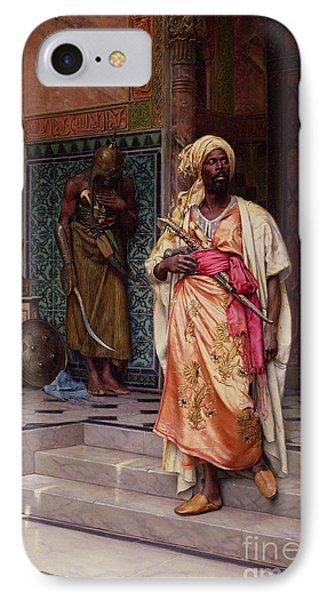The Emir IPhone Case by Ludwig Deutsch