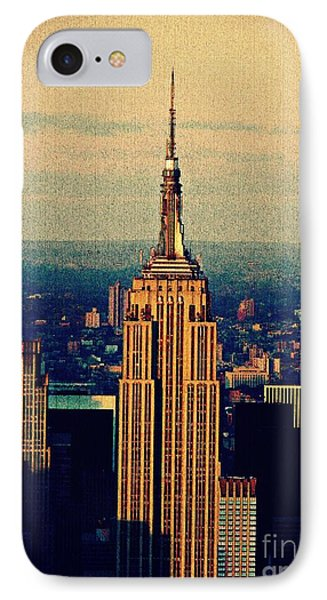 The Empire State Building IPhone Case by Sarah Loft