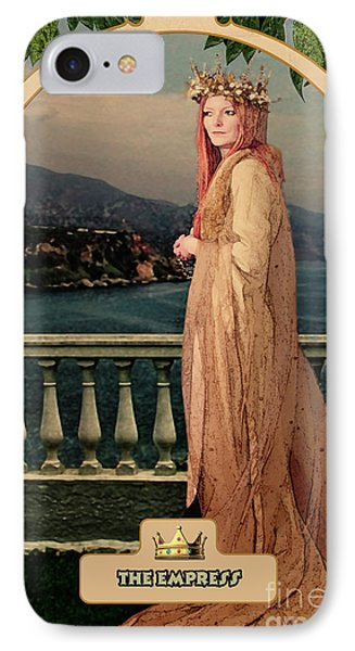 The Empress IPhone Case by John Edwards